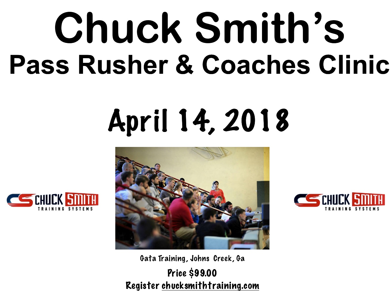 Chuck Smith's Players & Pass Rush Clinic