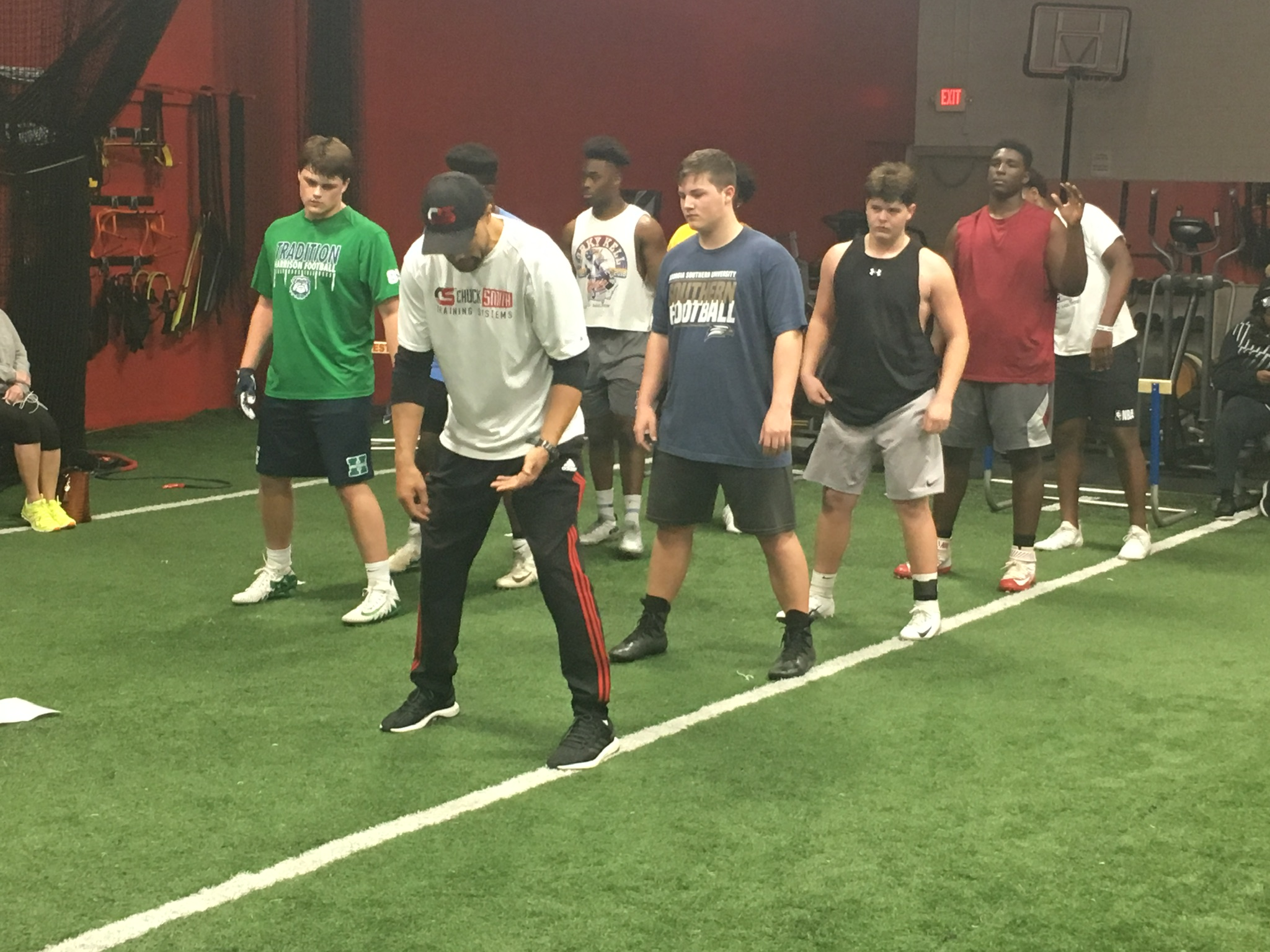 High School Pass Rush Training